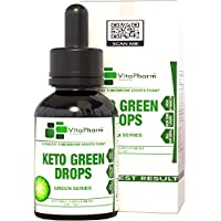 Keto Green Drops by VitaPharm Nutrition | Advanced Diet Drops for Men and Women | Simply Works with All Diets Including Keto (Ketogenic) to Speed Up Ketosis | Ultra High Potency 2 Fl oz