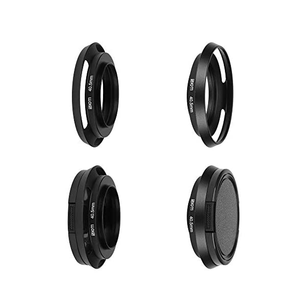 2 Pack JJC 72mm Front Lens Cap Cover with Deluxe Elastic Cap Keeper for Canon Nikon Sony Fujifilm Olympus and Other Brand of Lenses with 72mm Filter Thread