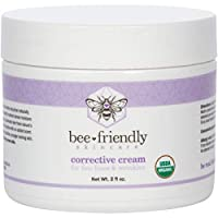 Face Moisturizer Organic Corrective Cream by BeeFriendly, USDA Certified Rich Anti Aging Facial Night Cream For Sensitive Skin Aids With Fine Lines, Wrinkles, Crows Feet, Eyes, Face, Neck 2 oz