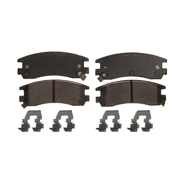 Front Wagner QuickStop ZD699 Ceramic Disc Pad Set Includes Pad Installation Hardware