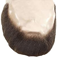 M55 Full Face Beard Lacey Wigs Human Hair Lace Backed Hand Made Fake Facial Amish Bundle with MaxWigs Costume Wig Care Guide