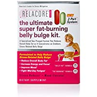 RELACORE Ultimate Super Fat-Burning Belly Bulge Kit, 105 Count
