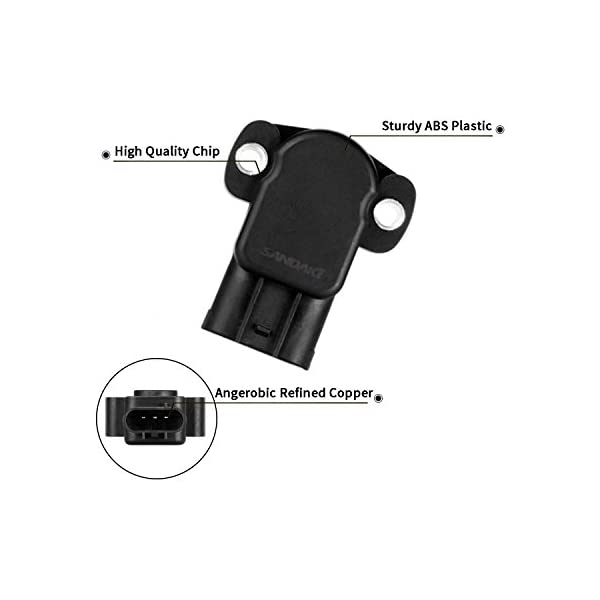 AIP Electronics TPS Throttle Position Sensor Compatible Replacement for 1996-2011 Mazda Ford and Mercury 3.0L 4.0L V6 Oem Fit TPS198