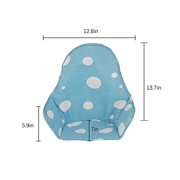 Topwon Baby Stroller//Car Seat//High Chair//Pushchair Breathable Cotton Cushion Liner Mat Pad Cover Protector Blue