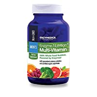 Enzymedica, Enzyme Nutrition Men's Multi-Vitamin, Support for a Healthy Heart, Immune Function and Energy, Non-GMO, 120 capsules (30 servings)