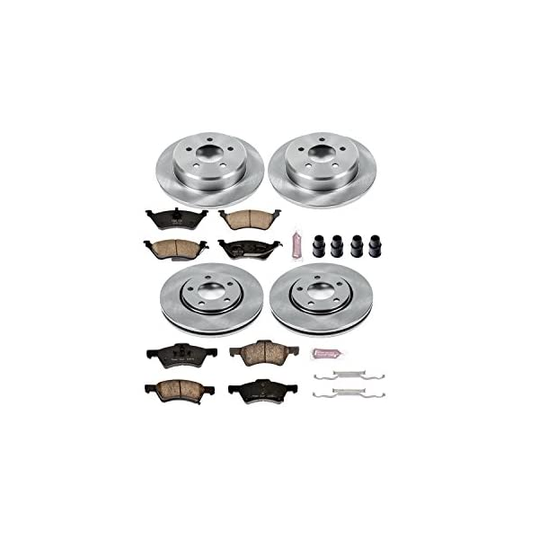 Autospecialty KOE4589 1-Click OE Replacement Brake Kit Power Stop