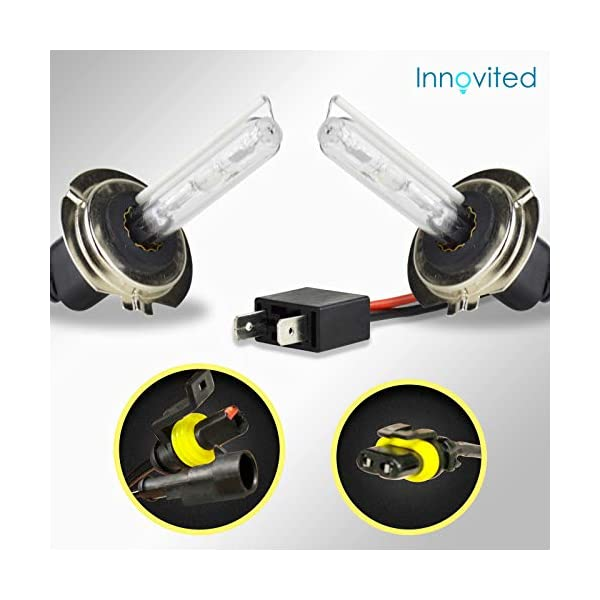 Golden Yellow Xentec H3 3000K HID xenon bulb x 1 pair bundle with 2 x 35W Digital Ballast