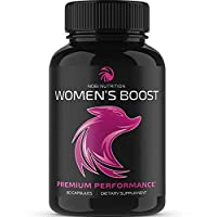 Nobi Nutrition Premium Female Enhancement Pills - Hormone Balance for Women - Women Health Supplement for Increased Drive, Strength, Endurance, Energy & Mood (60 Capsules)