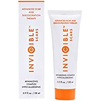 2 Pack 17% Stabilized Vitamin C - The #1 Ingredient for a Dark Spot Corrector Silicone Gel Serum - InviCible Scars Made in America - Recommended by Plastic Surgeons