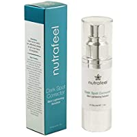 Dark Spot Corrector by Nutrafeel | HYALURONIC Acid | JOJOBA Oil | Vitamin B3 | A SAFE and Powerful Skin Brightening & Pigment Corrector Serum | More Effective than Harmful Hydroquinone!