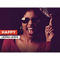 Happy in the Style of Leona Lewis
