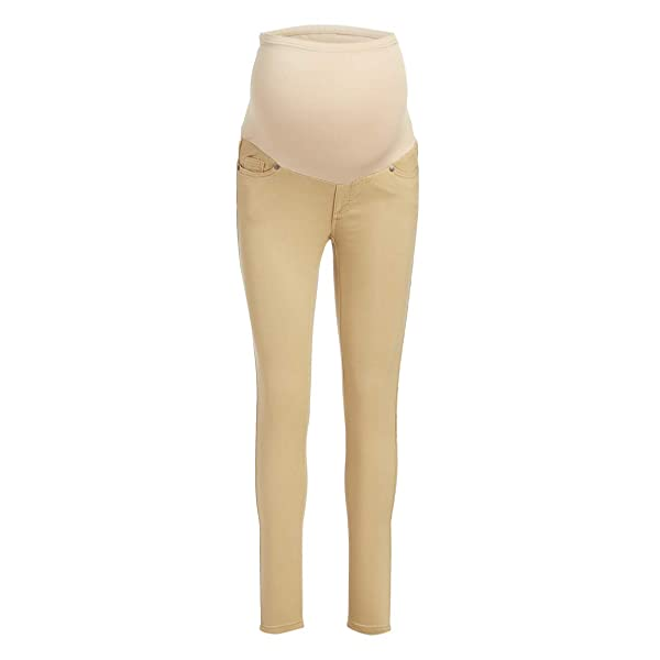 Small, Light RUMOR HAS IT Maternity Over The Belly Super Soft Stretch Skinny Jeans
