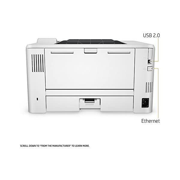 Dash Replenishment ready HP LaserJet Pro M402n Laser Printer with Built-in Ethernet C5F93A