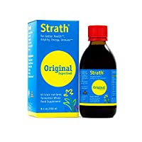 Bio-Strath Liquid | Whole Food Supplement |Supports a Healthy Immune System | Promotes Focus & Cognitive Function | Made in Switzerland | Kosher Certified 8.40oz