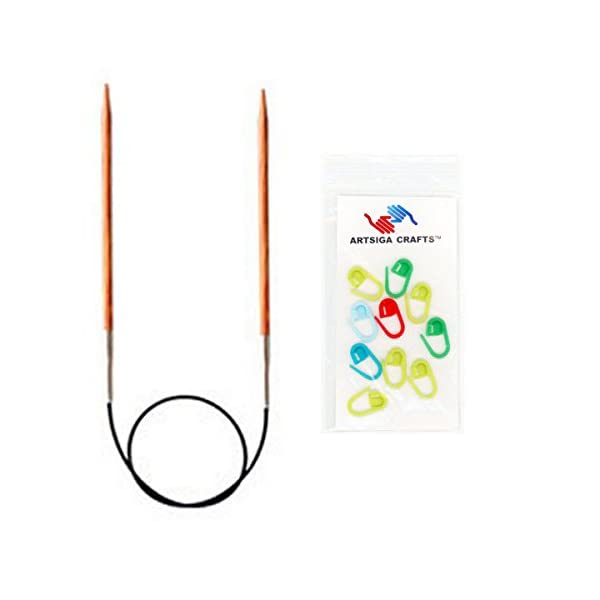 Knitters Pride 9//5.5mm Dreamz Fixed Circular Needles 16