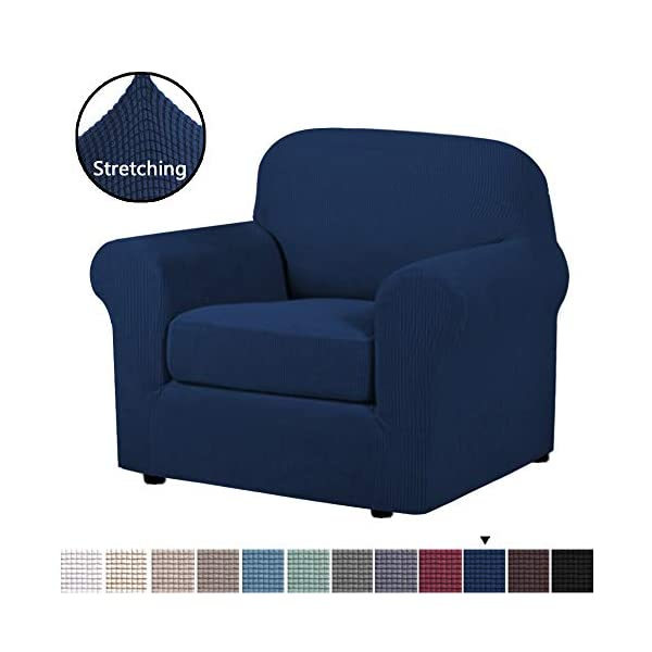Stylish Couch Covers and Sofa Slipcovers for Living Room,Camel Argstar Arm Chair Cover