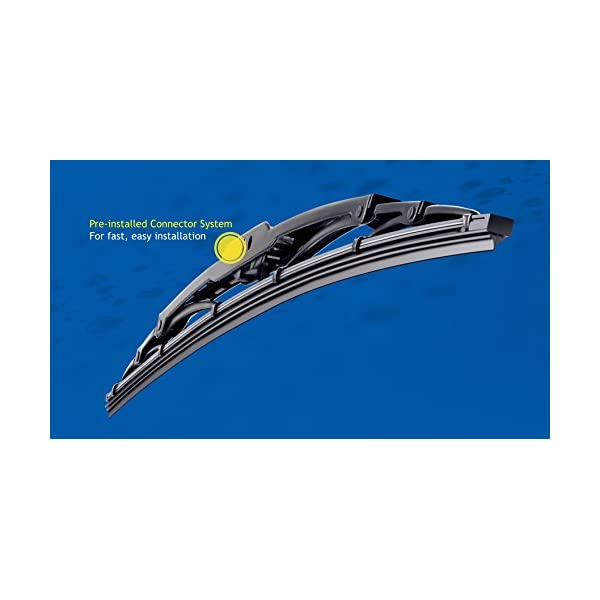13 Michelin 3713 RainForce All Weather Performance Windshield Wiper Blade Pack of 1