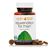 Rejuvenation for Men | 60 Herbal Tablets - 500 mg ea. | Natural Herbal Supplement for Promoting Stamina, Strength of Reproductive Tissue & Overall Health | Repairs Damaged Cells