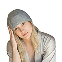 Migraine Gel Ice Hat by FOMI Care   Cooling Headache Pack   Wearable Cold Therapy Wrap for Tension, Sinus, Pressure Pain Relief   Stress Reliever   Freezable