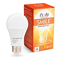 NorbSmile Full Spectrum SAD Light Bulb. Use Throughout Home, Year-Round. Near-Perfect Sunlike Spectrum Supports Circadian Rhythm, Energy, Happy Mood & Performance. The Feel Right Light. Based in USA.