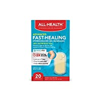 All Health All-Health Advanced Fast Healing Hydrocolloid Gel Bandages, Regular 20 ct | 2X Faster Healing for First Aid Blisters or Wound Care, 20 Count