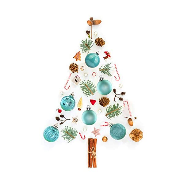 Tree Ornaments Hooks Included 1 57 Ki Store 34ct Christmas Ball Ornaments Shatterproof Christmas Decorations Tree Balls Small For Holiday Wedding Party Decoration 40mm Rose Gold Ball Ornaments