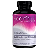 NeoCell Collagen Beauty Builder Tablets, Collage Type 1 & 3, 150 Count (Package May Vary)