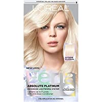 L'Oreal Paris Feria Multi-Faceted Shimmering Permanent Hair Color, Extreme Platinum, Pack of 1, Hair Dye