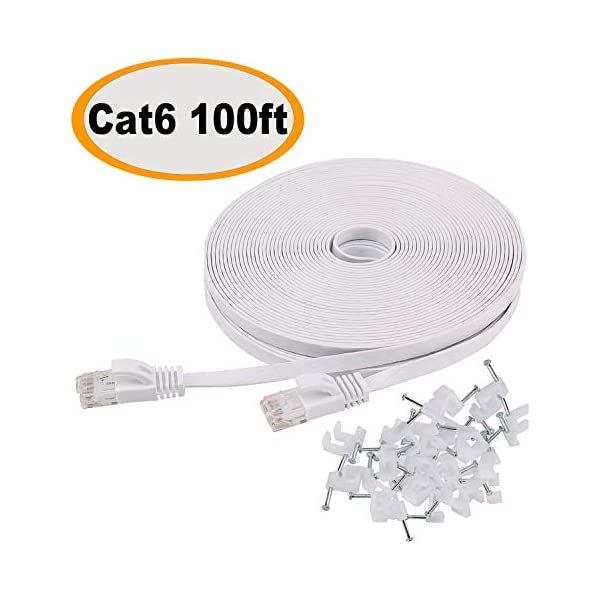 100FT 100 FT RJ45 CAT5 CAT 5 HIGH SPEED ETHERNET LAN NETWORK GREY PATCH CABLE