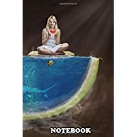Notebook: Water Melon , Journal for Writing, College Ruled Size 6