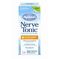 Hyland's Nerve Tonic Stress Relief Tablets, Natural Relief of Restlessness, Nervousness and Irritability Symptoms, Non-Habit Forming, 500 Count
