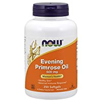 NOW Supplements, Evening Primrose Oil 500 mg with Naturally Occurring GLA (Gamma-Linolenic Acid), 250 Softgels