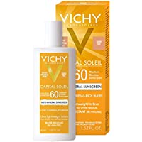 Vichy Capital Soleil Tinted Mineral Sunscreen for Face SPF 60, 1.52 Fl Oz