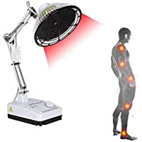 Therapeutic Physiotherapy Apparatus, Desktop TDP Far Heat Lamp Electromagnetic Wave Light for Mineral Therapy Health Beauty Far-Infrared Pain Relief Device 250W