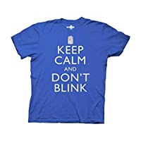 Ripple Junction Doctor Who Keep Calm and Don't Blink Adult T-Shirt