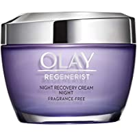 Night Cream by Olay Regenerist Night Recovery Anti-Aging Face Moisturizer 1.7 oz, 2 Month Supply