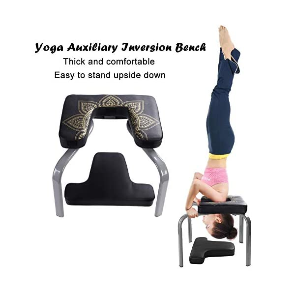 Bodylift Headstand Inversion Bench Headstand Fitness Build Up Body Kit Red Home Gym Office Yosooo Yoga Exercise Chair