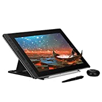 Huion KAMVAS Pro 16 Drawing Tablet Monitor Full-Laminated Pen Display Tilt Battery-Free Stylus with Adjustable Stand- 15.6 Inches