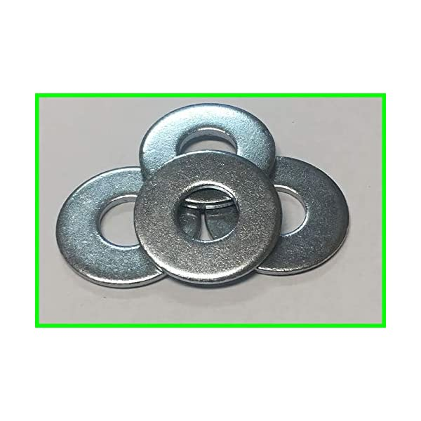 1-1//16 Outside Diameter Stainless Steel 18-8 304 - 100 Pieces Choose size 1//2 Stainless Flat Washer