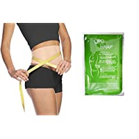 Ultimate Body Applicator Lipo Wrap Skinny Wraps for inch Loss Tone and Contouring it Works for Cellulite Stretch Marks Reduction. (8 Wraps)