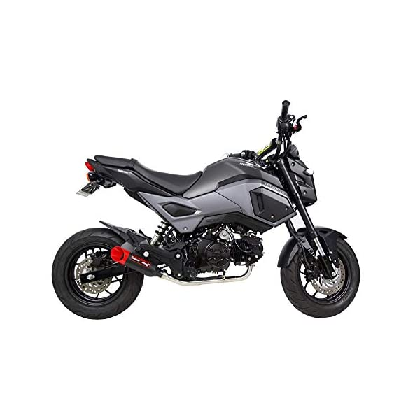 Coffman/'s Full Exhaust System for Honda Grom 125 2017 2018 2019 2020 with Gold Tip