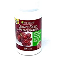 trunature Grape Seed & Resveratrol, 150 Timed-Release Tablets