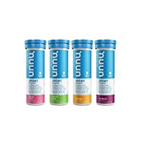 Nuun Sport: Electrolyte Tablets | Citrus Berry Mixed Box | 4 Tubes (40 Servings)