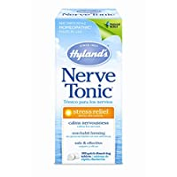 Hyland's Nerve Tonic Stress Relief Tablets, Natural Relief of Restlessness, Nervousness and Irritability Symptoms, Non-Habit Forming, 100 Count