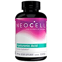 NeoCell Hyaluronic Acid Capsules, 100mg, 60 Capsules (Package May Vary)