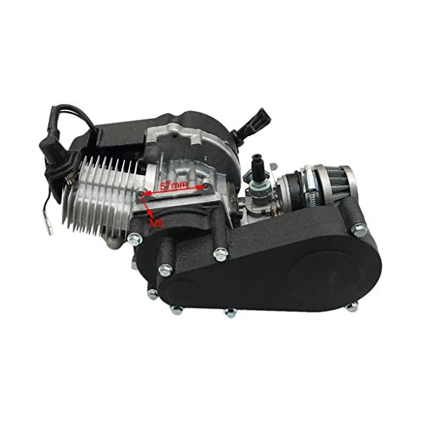 47CC 49CC 2-stroke Engine Motor Pocket ATV Pit Bicycle Scooter Moped Complete