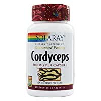 Cordyceps Extract Solaray 60 Caps