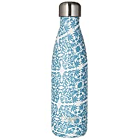 S'well Stainless Steel Water Bottle - 17 Fl Oz - Madiera - Triple-Layered Vacuum-Insulated Containers Keeps Drinks Cold for 41 Hours and Hot for 18 - with No Condensation - BPA Free Water Bottle