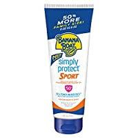 Banana Boat SPF 50 Mineral Sunscreen, Simply Protect Sport Sunscreen Lotion, 9 Ounce