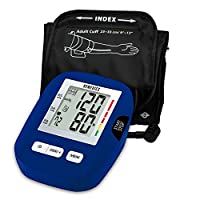 HoMedics, Upper Arm Blood Pressure Monitor   Easy One-Touch Operation, 120 User Memories (60 Per User)   Standard Sized Cuff and Storage Bag Included